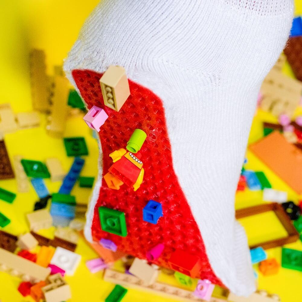 樂高積木防護襪